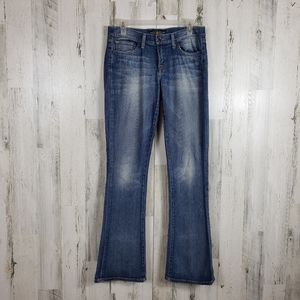 Lucky brand Charlie baby boot Jean's size 6